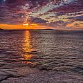 Sunrise Drama Acadia National Park by Jeff Sinon