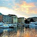 Sunrise In Stockholm by Jenny Hudson