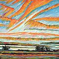 Sunrise Les Eboulements Quebec by Patricia Eyre