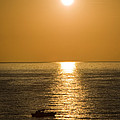 Sunrise Over The Mediterranean by Jim  Calarese