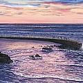 Sunset At Children's Pool by John YATO