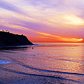 Sunset At Pv Cove by Ron Regalado
