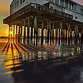 Sunset At The Pier by Susan Candelario