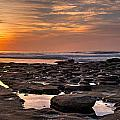 Sunset At The Tidepools II by Peter Tellone