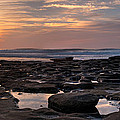 Sunset At The Tidepools IIi by Peter Tellone