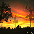 Sunset Ballerina by Joyce Dickens