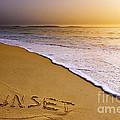 Sunset Beach by Carlos Caetano