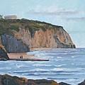 Sunset Cliffs Ca by Raymond Kaler