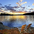 Sunset In Algonquin Park by Elena Elisseeva