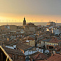 Sunset In Calahorra From The Bell Tower Of Saint Andrew Church by RicardMN Photography