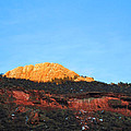 Sunset On Horsetooth Mountain by Ric Soulen