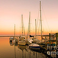 Sunset On The Dock by Southern Photo