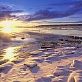 Sunset Over Knik Arm & Six Mile Creek by Michael DeYoung