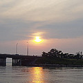 Sunset Over Meadowbrook Bridge by John Telfer