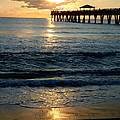 Sunset Pier by Carey Chen