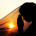 Sunset Prayers Print by Tim Gainey