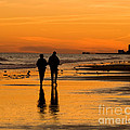 Sunset Stroll by Al Powell Photography USA