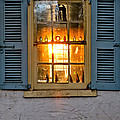 Sunset Through A Window by Olivier Le Queinec