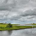 Sunshine And Heavy Clouds Over Dennisport by Michelle Wiarda