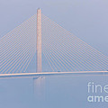 Sunshine Skyway Bridge In Fog II by Clarence Holmes