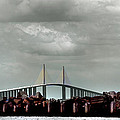 Sunshine Skyway Bridge by Joseph G Holland