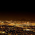 Super Moon Over Phoenix Arizona  by Susan Schmitz