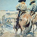 Supply Wagons by Newell Convers Wyeth