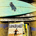 Surfboards And Magazines by Ron Regalado