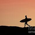 Surfer Crossing by Paul Topp