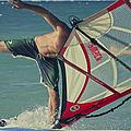 Surfing Kanaha Maui Hawaii by Sharon Mau