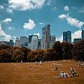 Surreal Summer Day In Central Park by Amy Cicconi