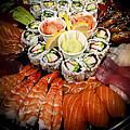 Sushi Tray by Elena Elisseeva