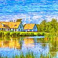 Swedish Lakehouse by Antony McAulay