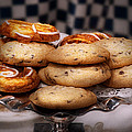 Sweet - Cookies - Cookies And Danish by Mike Savad