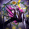 Sweet Loving Dreams In Halloween Night by Alessandro Della Pietra