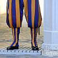 Swiss Guards. Vatican by Bernard Jaubert
