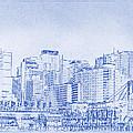 Sydney's Cockle Bay Blueprint by Kaleidoscopik Photography