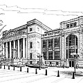 Symphony Center In Nashville Tennessee by Janet King