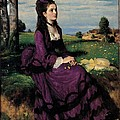 Szinyei Merse Pal, Portrait Of A Woman by Everett