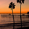 T Street Pier San Clemente California From The Book My Ocean by Artist and Photographer Laura Wrede