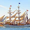 Tall Ship by Bill  Robinson