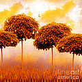 Tangerine Trees And Marmalade Skies by Mo T
