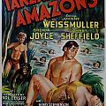 Tarzan And The Amazons by Georgia Fowler