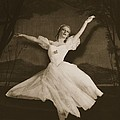 Tatiana Riabouchinska In Les Sylphides by French Photographer