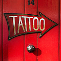 Tattoo Door by Tim Gainey