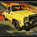 Taxicab Repair 1974 Gmc by Blake Richards
