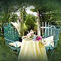 Tea In My Garden by Trudy Wilkerson