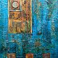 Teal Windows by Debi Starr