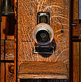 Telephone - Antique Wall Telephone by Lee Dos Santos