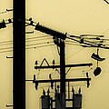 Telephone Pole And Sneakers 5 by Scott Campbell